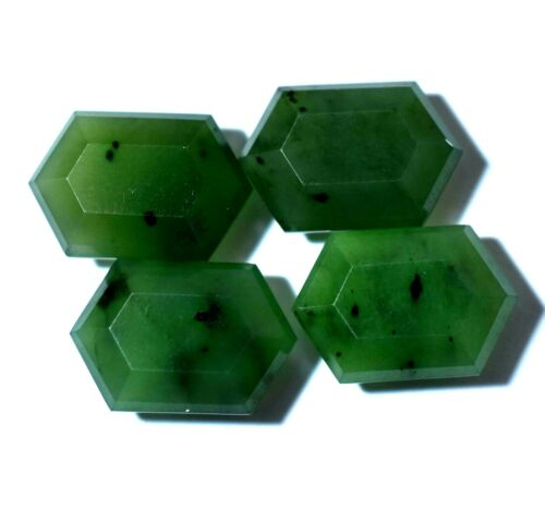 Untreated 27.85 Ct Natural Green African SERPENTINE Top Quality 4 PCS Gemstone