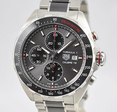 Tag Heuer Formula 1 Chronograph Ceramic CAZ2012 Automatic 44mm Calibre 16 Steel