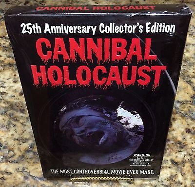 Cannibal Holocaust Collectors Edition   Limited  Banned  Poster Ruggero Deodato