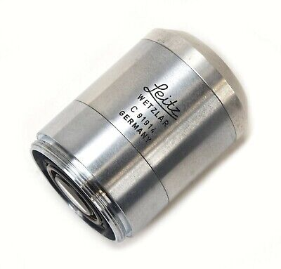 Microscope Objective Leitz Wetzlar Germany Pl 32x0.5 D Infinity Optics Lens Eye