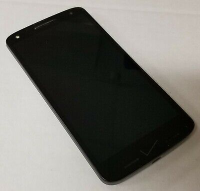Motorola Droid Turbo 2 Verizon Android Smartphone 32GB Black (Image Burn)