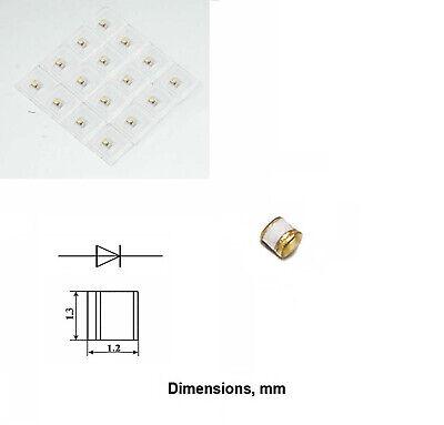 Schottky Varactor Gaas Diode 0.4 - 0.7pf 0.3 - 50ghz 3a630a Military Gold Ussr