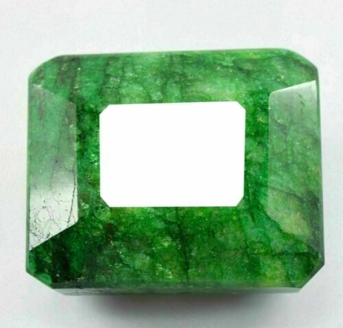 Natural 1491 Ct EGL Certified Colombian Green Emerald Gemstone Emerald Shape