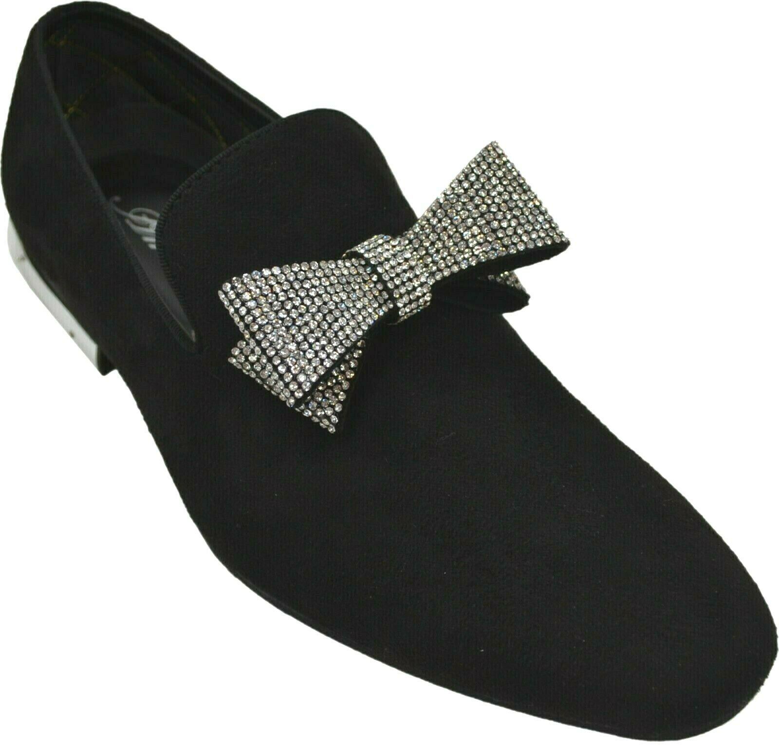 black prom loafers