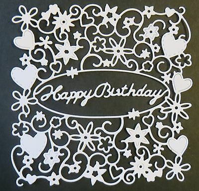 Happy Birthday Tapestry from Tattered Lace