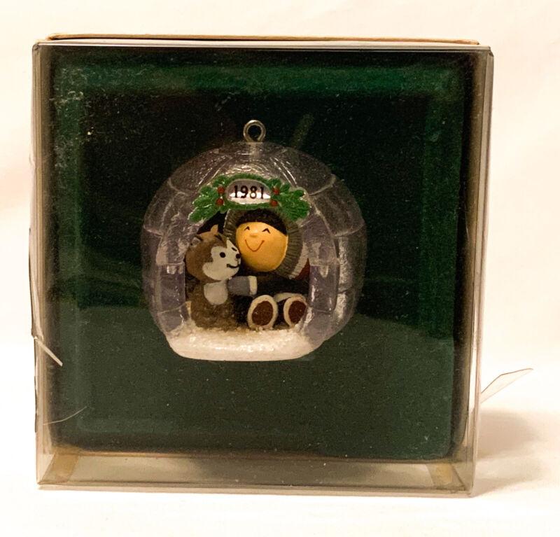 Hallmark Keepsake Frosty Friends 2nd In Series Ornament 1981