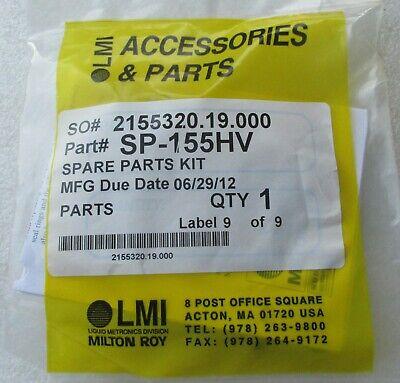 Milton Roy Lmi Electronic Metering Pump Spare Parts Kit Sp-155hv New