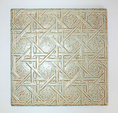 Franciscan Interpace Tile or Trivet in 70/'s Design and Colors