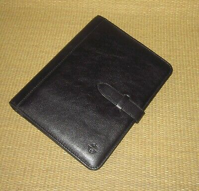Classic Franklin Covey New Black Sim. Leather .885 Rings Plannerbinder