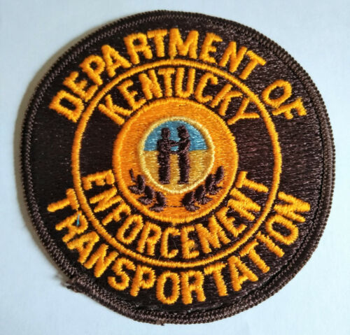 Kentucky Department of Transportation Enforcement Patch OLD // FREE US Shipping!