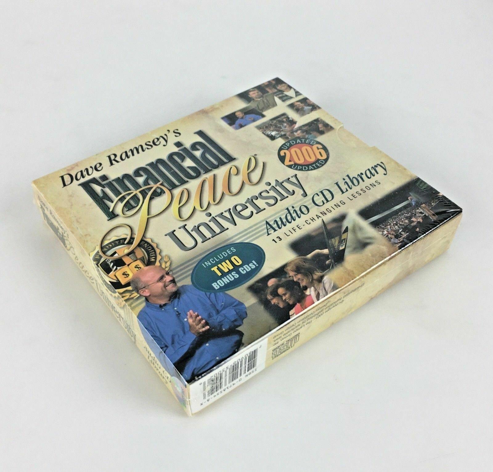New Dave Ramsey s Financial Peace Audio CD Library Bonus Beat Debt Build Wealth - $24.45
