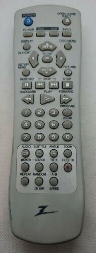 Original Zenith 6711R1P081K Dvd Vcr Combo Remote XBV613 VCR - $34.91