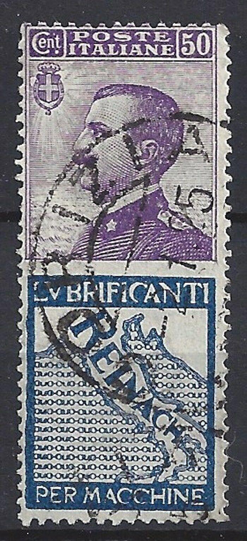 447)) Italien freie Auswahl aus mehrerer Werte oder Sätze gestempelt 7)) U14° Werbe ZD