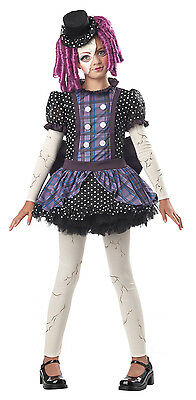 Child Broken Rag Doll Costume  - Rag Doll Costume Kids