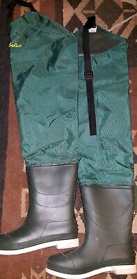 Used, Cabela's hip boots waders felt soles Fishing Size 7 for sale  Klamath Falls