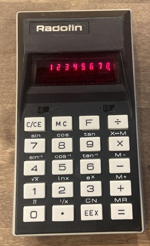 VINTAGE Radofin 2560 Electronic Calculator