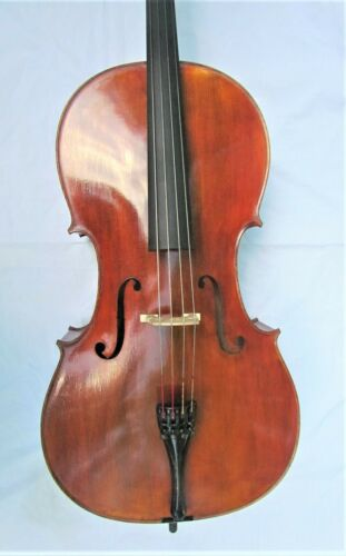 Very fine new 4/4 size GERMAN cello labeled RUDOLF PALFNER