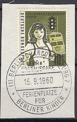 BERLIN 1960 MI NR 194 GESTEMPELT SONDERSTEMPEL ESST AUF PAPIER 24533