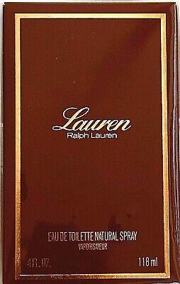 Lauren by Ralph Lauren 4oz Eau de Toilette Spray for Women RARE Sealed Box