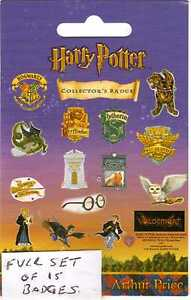 HARRY POTTER RARE ARTHER PRICE COLLECTOR PIN BADGES NOW RETIRED ONLY £1.99 EACH