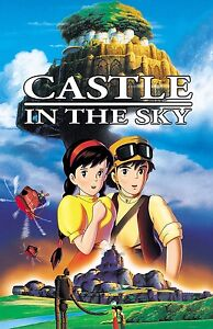 CASTLE IN THE SKY movie poster print : 11 x 17 inches (style A)