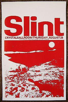 SLINT 2014 Gig POSTER Portland Oregon Concert