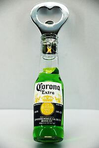 Corona extra beer bottle opener fridge magnet aaz02 ebay - Fridge magnet beer bottle opener ...