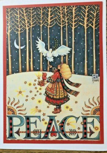 Mary Engelbreit Handmade Greeting Card-Peace