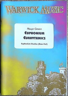 Euphonium Eurhythmics, Euphonium Studies, Bass Clef, Music Book By Alwyn Green