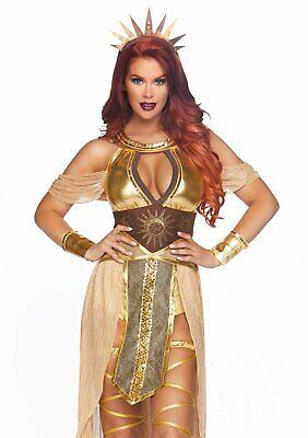 Leg Avenue Sonne Göttin Gold Kleid Sexy Erwachsene - Goldene Göttin Kleid