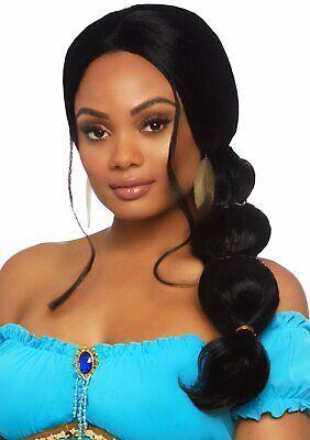 Prinzessin Jasmin Perücke Aladdin Disney Royal Agrabah Kostüm - Nicht Disney Prinzessin Kostüme