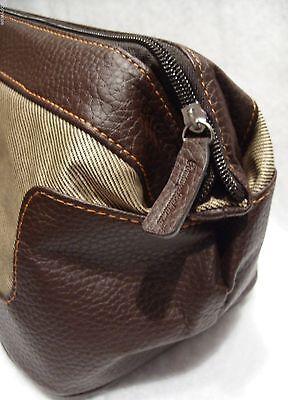 TOMMY BAHAMA Dopp Kit Shaving Travel Toiletry Case Bag Wide Mouth Brand New!