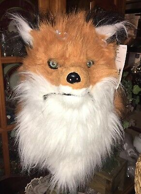 Mouth Mover Fox Mask Furry Fuzzy Overhead Costume Adult Teen Animal Group](Teenage Group Costumes)