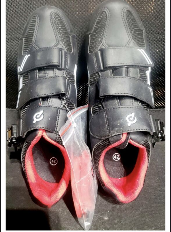 Peloton Cycling Shoes Size 42 With Cleats