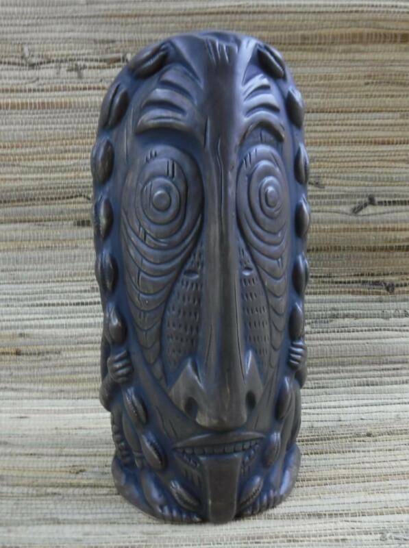 Luk Luk Tiki Mug Brown by Ken Ruzic from Tiki Farm New in Box tiki 1