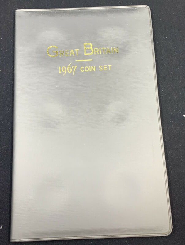 1967 Uncirculated Great Britain Coin Set