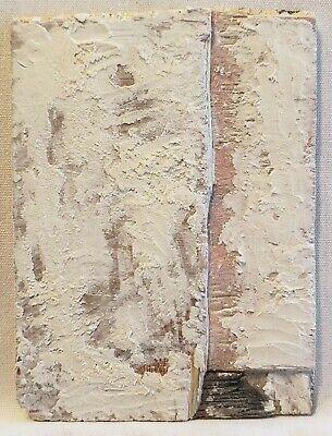 Original Abstract Modern Minimal Mini Textured Painting By K.A.Davis