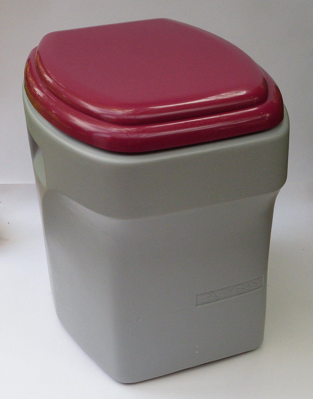 Komposttoilette Reisetoilette Campingtoilette Carysan Rot oder Blau