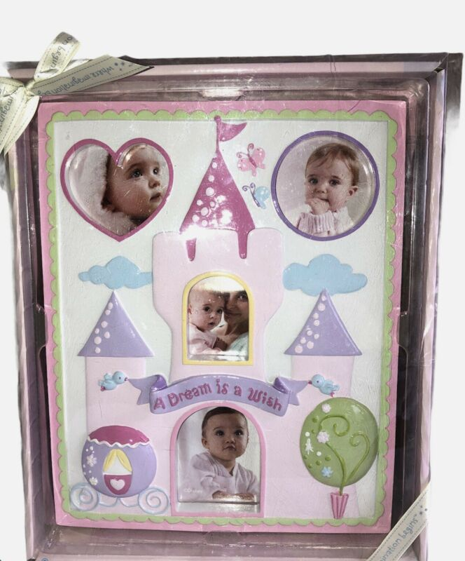 """Disney Baby Princess Castle Milestone First Pictures Photo Frame 10.5"""" x 9"""""""