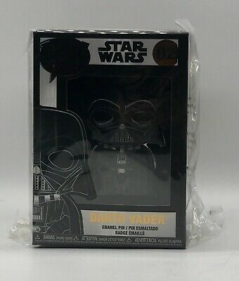 Funko POP! Pins - Star Wars - Darth Vader #02 Wave 1 Hard To Find!!!