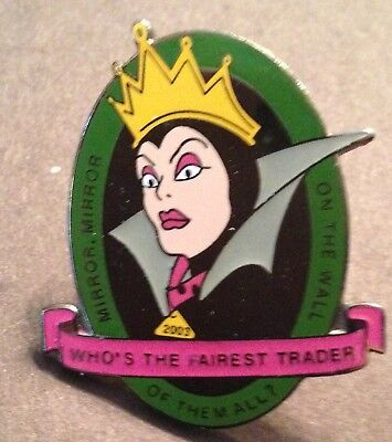 DISNEY FANTASY EVIL QUEEN MIRROR MIRROR WHO'S THE FAIREST TRADER PIN LE 300 NEW