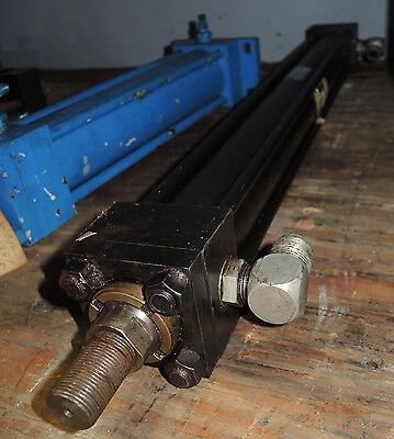 Parker Hydraulic Cylinder- 2h Series 02.00b B2hcts24c 23.000 - Used