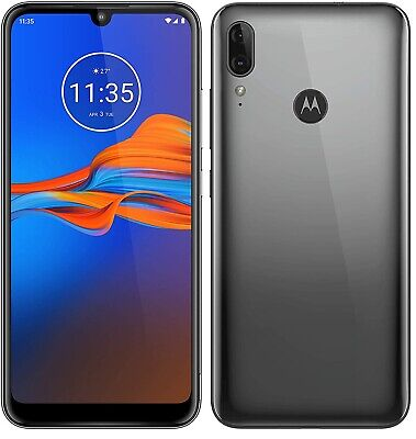 "Motorola Moto E6 Plus 4G 6.1"" Smartphone 32GB Unlocked Sim-Free - *Grey* B"