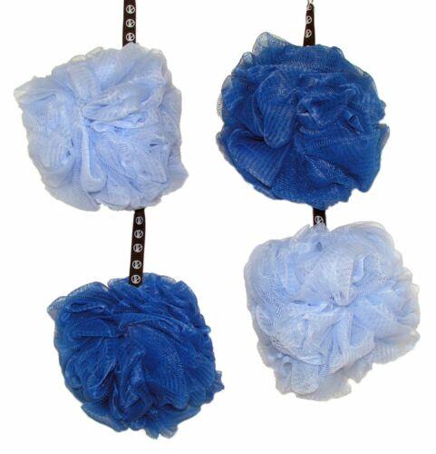 Lot of 4 Loofah Bath Shower Sponge Mesh Ball Lufa Exfoliating ~