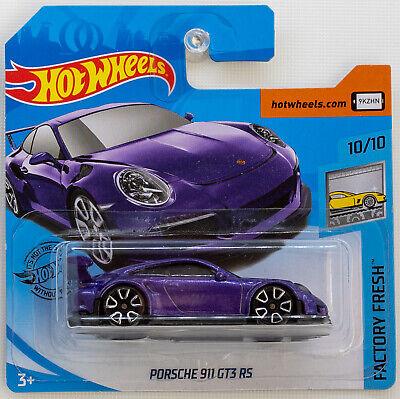 Hot Wheels Porsche 911 GT3 RS Purple FYC47 Factory Fresh 2019