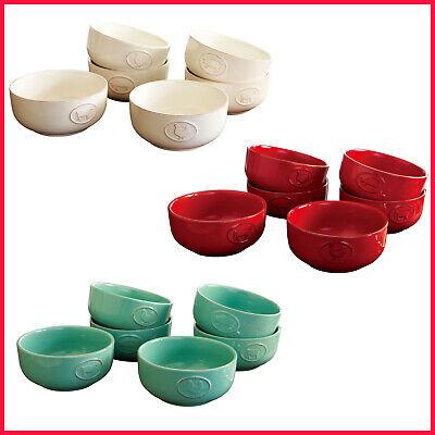 Dishwasher Safe Stoneware Bowls (Farmhouse Stoneware Bowls with Antique Finish,  Dishwasher,Oven, Microwave)