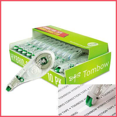 No Tax Tombow Mono Hybrid Style Correction Tape Non-refillable 10pk