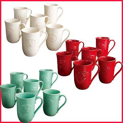 Oven Safe Mug - Farmhouse Stoneware Mugs with Antique Finish,  Dishwasher, Oven, Microwave safe