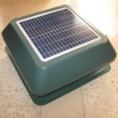 NEW SOLAR POWER ROOF ATTIC VENTILATION EXHAUST FAN