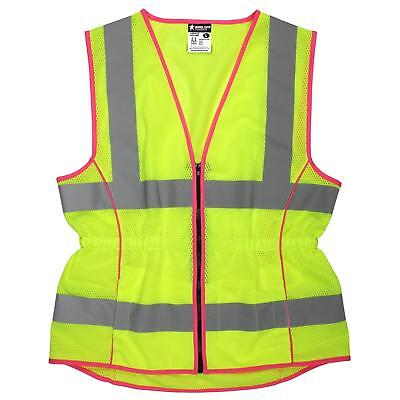 River City Class 2 Reflective Womens Safety Vest With Pockets